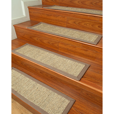 Simple Floor Covering & Design- Stair treds.