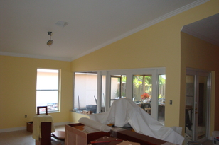 Painting Service- Simple Floor Covering & Design