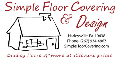 Simple Floor Covering & Design. Servicing PA NJ DE